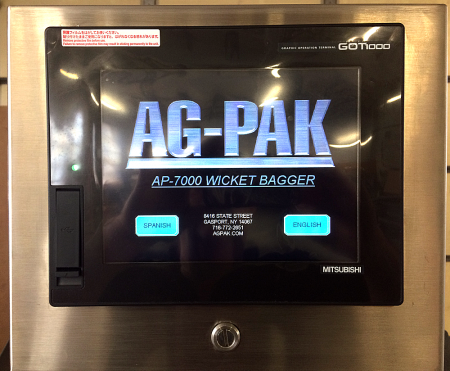 AP7000 Touch Screen