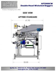 AP7000 Side View Drawing