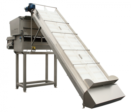 Ag-Pak Citrus Elevator with Weigher