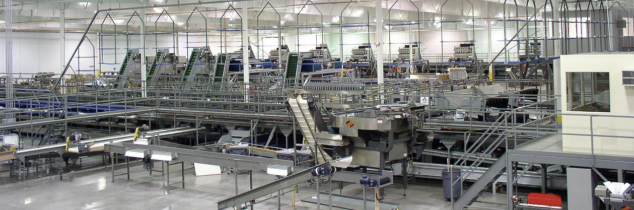 New packing equipment being installed by Ag-Pak