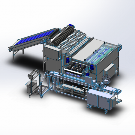 A-Pouch - Automatic Pouch Bagging System for Apples