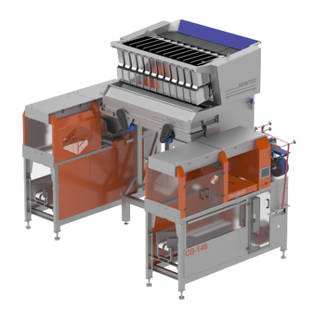 NEWTEC 4012B2 Weigher with Daumar CB148 Baggers