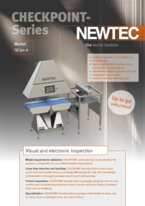 NEWTEC Checkpoint-Series Literature