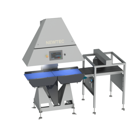 NEWTEC Checkpoint QC90-2 Check Weigher with Cross Reject