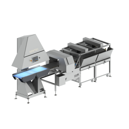 NEWTEC Checkpoint QC90-2 Check Weigher with Extra Cross Reject