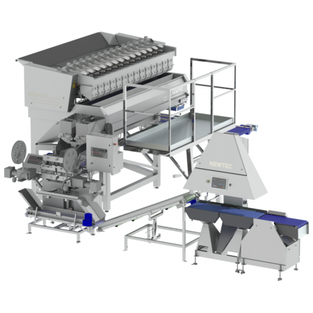 NEWTEC Checkpoint QC90-2 Check Weigher In-Line