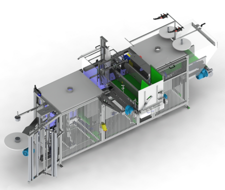 SACLARK SCH38 Automatic Net Bagging Machine