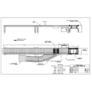Ag-Pak In-Line Box Check Weigher Drawing
