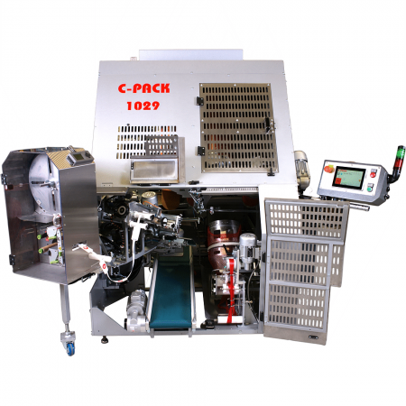 C_PACK VAC 1029 Automatic Net Clipping Machine Front