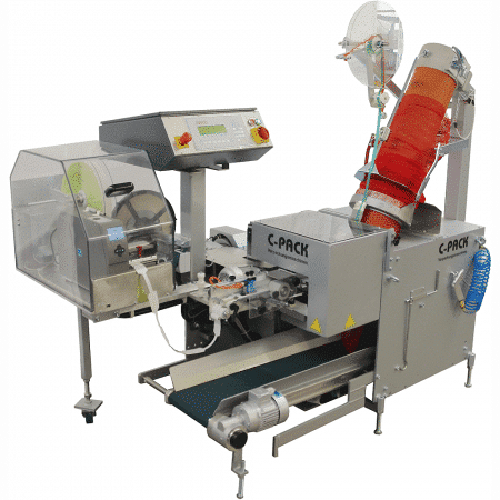 C-PACK 931E Net Clipping Machine
